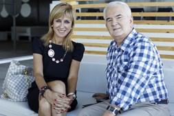 Uma das figuras que entrevistou para o Correio da Manhã foi a jornalista da RTP Judite de Sousa