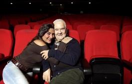 Com Marina Mota, numa das suas últimas entrevistas