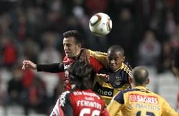 Apesar de um resultado final desnivelado, futebolistas de ambas as equipas empenharam-se ao longo do jogo