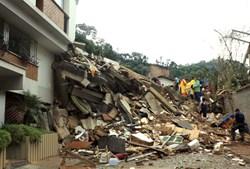 Ruas de Nova Friburgo transformaram-se numa zona de catástrofe