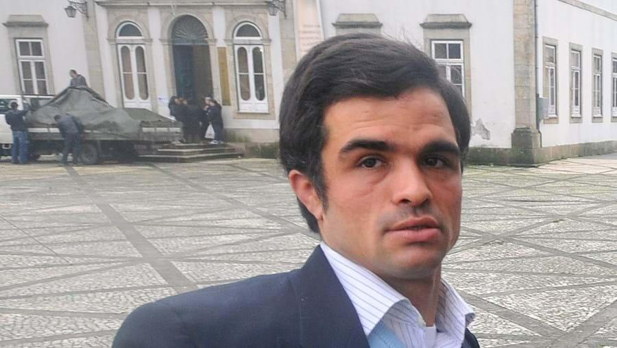 Rui chegou ao Tribunal de Vila Verde com a família de acolhimento
