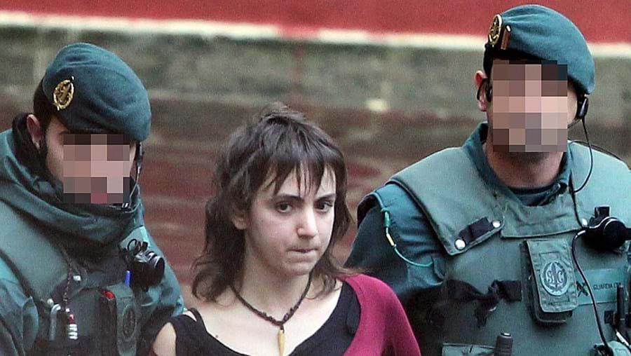 A etarra Itxaso Urtiaga foi detida em Zarautz, Guipúzcoa