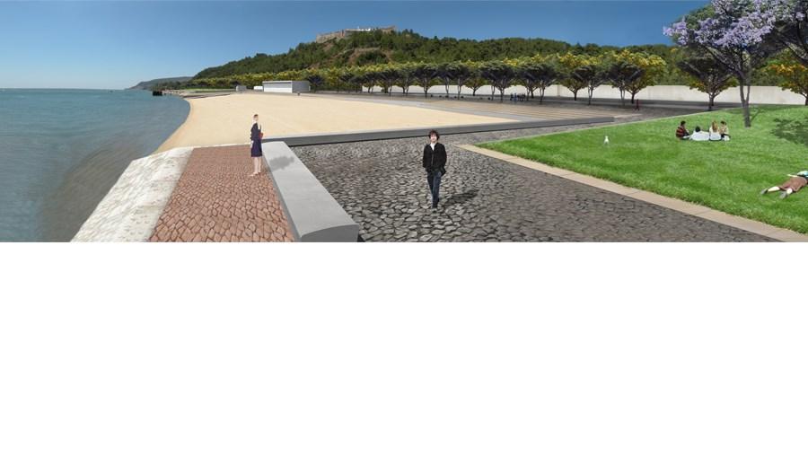 Projecto para a Praia da Saúde aproxima cidade do rio