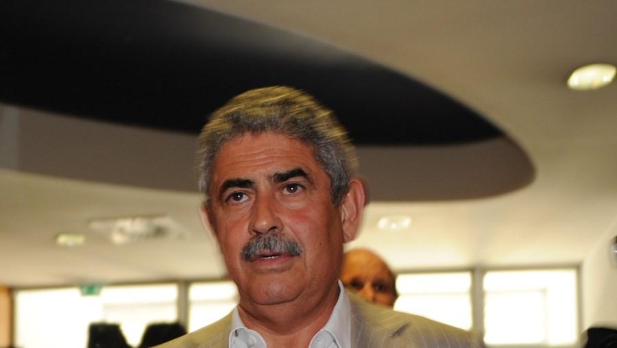 Luís Filipe Vieira, presidente do Benfica, pode não renovar o contrato com a Olivedesportos