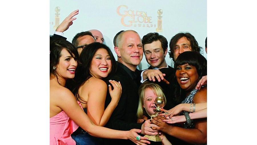 Série voltou a ganhar na categoria de comédia. Jane Lynch e Chris Colfer também foram premiados pelo seu desempenho