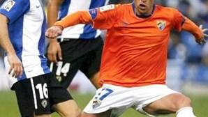 Málaga: Duda vai parar um mês