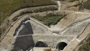 Dois feridos nas obras do túnel do Marão