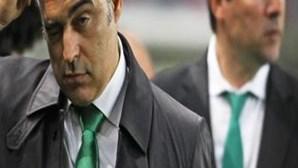 Paulo Sérgio abandona comando técnico do Sporting