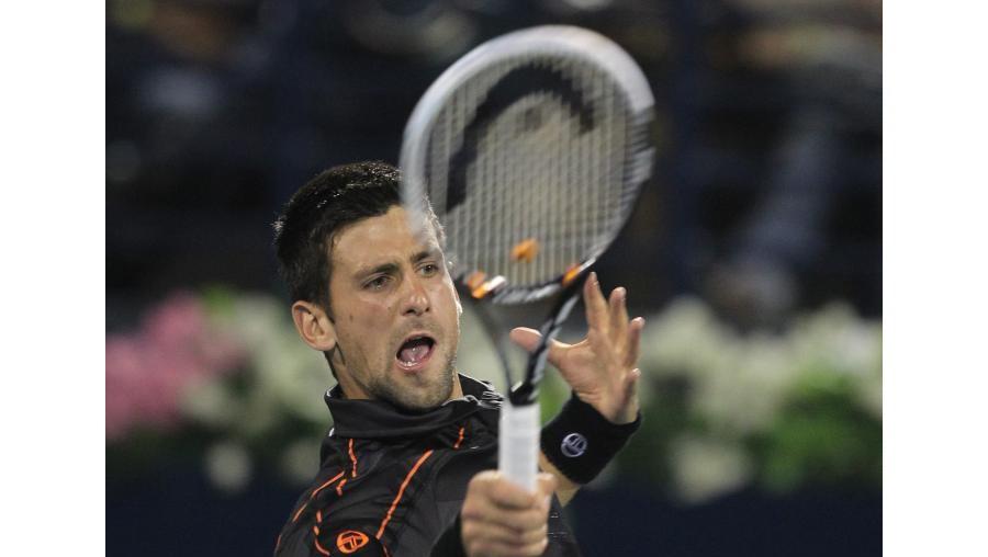 Novak Djokovic venceu Federer