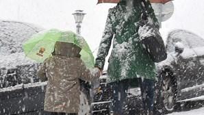 Chuva e neve de regresso no Carnaval