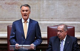 Cavaco Silva apresentou um discurso virado para os jovens e pouco consensual entre os líderes políticos.