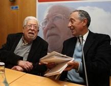 Lançamento do seu mais recente livro de memórias, apresentado por Marcelo Rebelo de Sousa