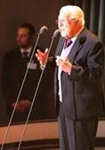 Artur Agostinho esteve presente na homenagem a Eusébio da RTP