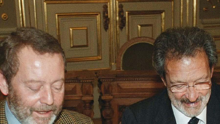 Manuel Vilarinho e Dias da Cunha eram os presidentes de Benfica e Sporting em 2002