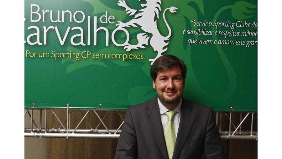 Bruno de Carvalho é candidato à presidência do Sporting