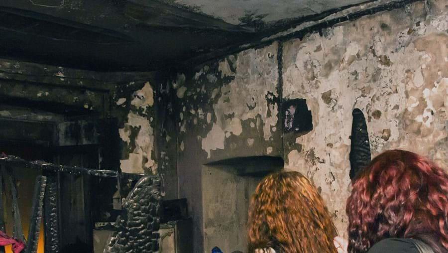 Susana Castanheira saltou por uma janela de uma altura de quatro metros para escapar às chamas que destruíram a casa onde vivia