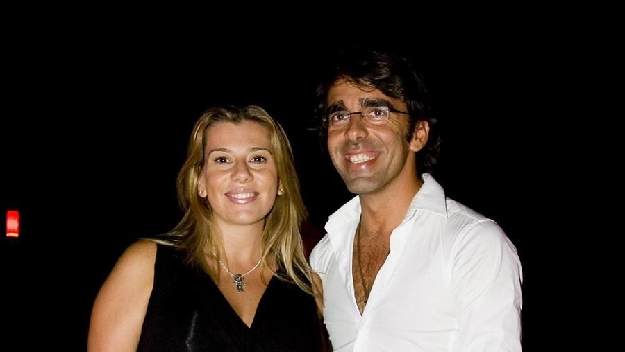 Mónica e Sérgio reataram paixão antiga no início do ano passado