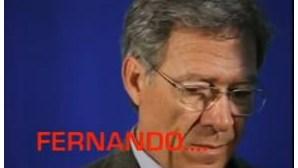 Homens da Luta usam Abba para satirizar Fernando Nobre