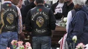 Dor no funeral de motard