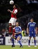 Alan voltou a demonstrar que consegue chegar mais alto do que os adversários do Sporting de Braga