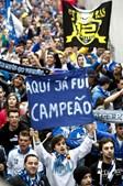 Adeptos do Porto entraram na Luz entusiasmados