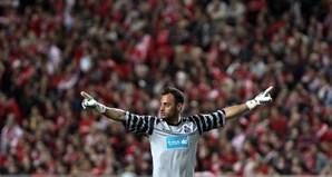 Do outro lado do campo, o guarda-redes Beto, também ele formado em Alvalade, festejou o primeiro golo do FC Porto