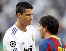 Cristiano Ronaldo e Lionel Messi eram os principais candidatos a homem do jogo. No final o português ficou a milhas do argentino
