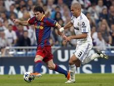 Luso-brasileiro Pepe viu-se e desejou-se para travar jogadas de Messi