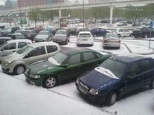 Parque de estacionamento em Benfica parecia saído de outro país