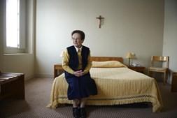 A irmã Noémia arrumou e limpou o quarto de João Paulo II em 2000