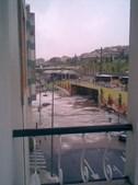 Zona da Damaia foi uma das mais atingidas pelo temporal