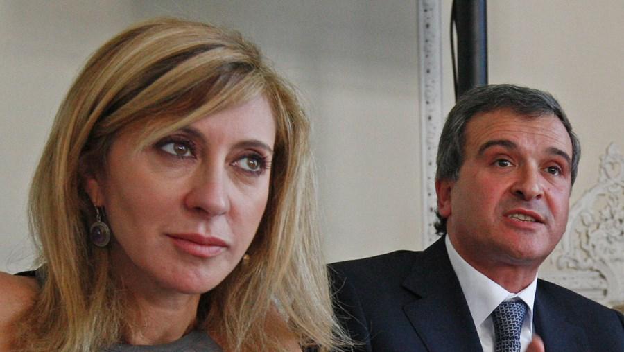 Judite de Sousa (à esq.) moderou debate entre Relvas e Seguro