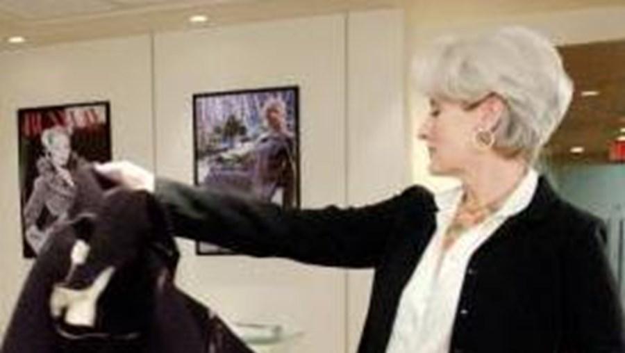 Meryl Streep foi a grande estrela de 'O Diabo Veste Prada' no cinema