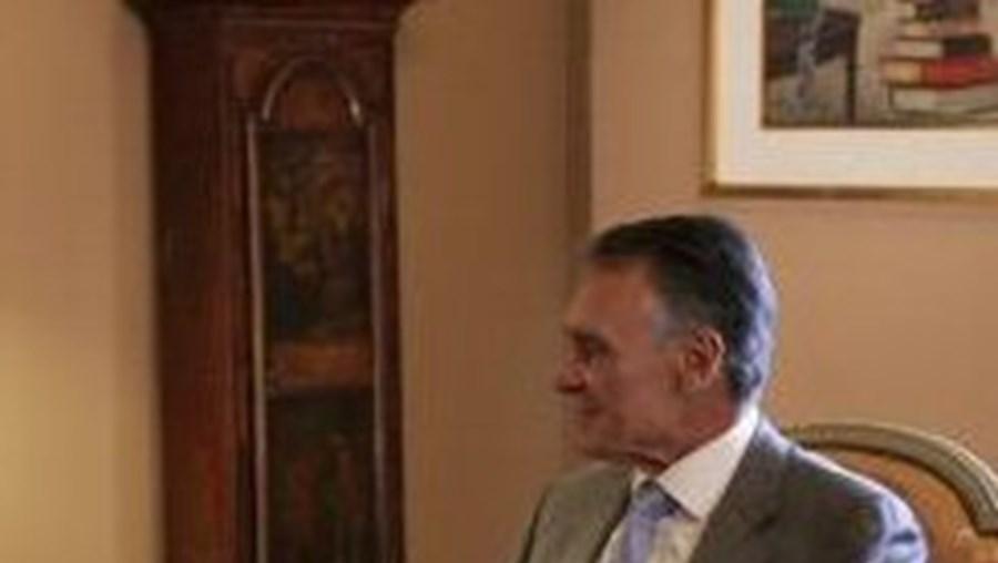 Cavaco Silva já tinha recebido de manhã o ministro da Presidência, Pedro Silva Pereira