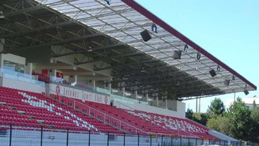 Estádio do Mar, utilizado pelo Leixões