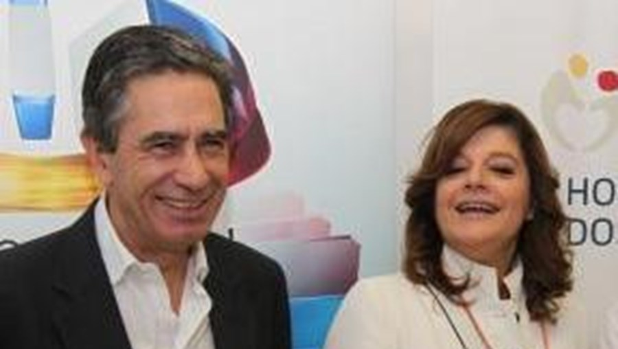 Luís Marques e Júlia Pinheiro