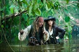 'Piratas dos Caraíbas 2: Por Estranhas Marés' (estreia 19 de Maio)