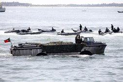 O Dia ficou marcado pelas inúmeras manobras da capacidade operacional da Marinha.