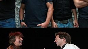"""""""Somos fãs de Bon Jovi"""" (COM VÍDEO)"""