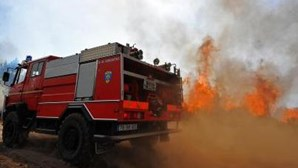 Incêndio destrói dois camiões em Coimbra