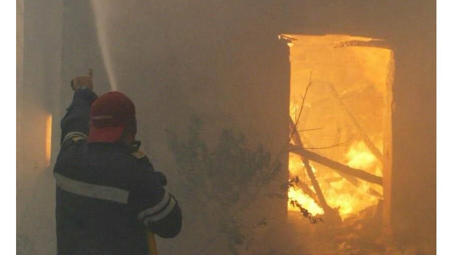 Incêndio provocou estragos