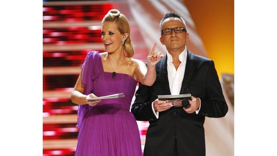 Cristina Ferreira e Manuel Luís Goucha apresentaram a última edição de 'Uma Canção Para ti'. O vencedor foi escolhido pelo público através de voto por telefone e telemóvel