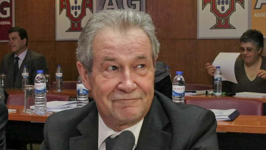 Gilberto Madaíl, líder da FPF