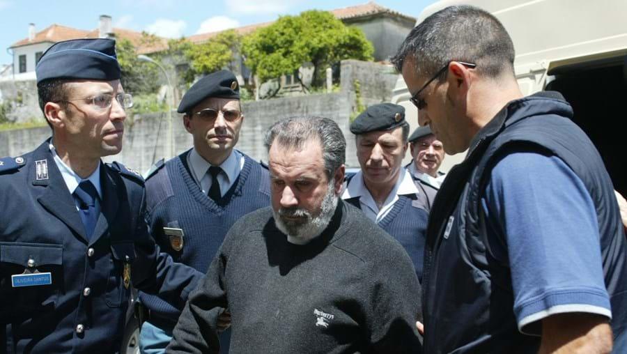 Leonardo Moreira quando foi detido. Recebeu a pena máxima
