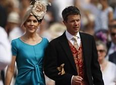 Os príncipes da Dinamarca Mary e Frederico constaram da lista de convidados.