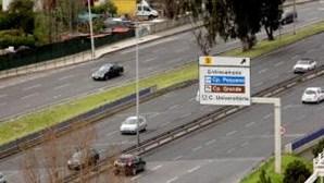 Acidente leva ao corte de trânsito na Segunda Circular