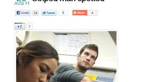 Fotos tiradas às escondidas no metro de Londres tornam-se fenómeno de sucesso