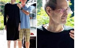Steve Jobs aparece debilitado após saída da Apple