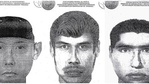 Divulgado retrato-robô de criminosos mexicanos