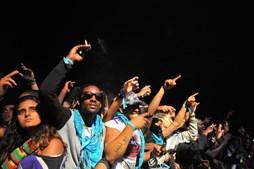Multidão vibrou com Snoop Dogg